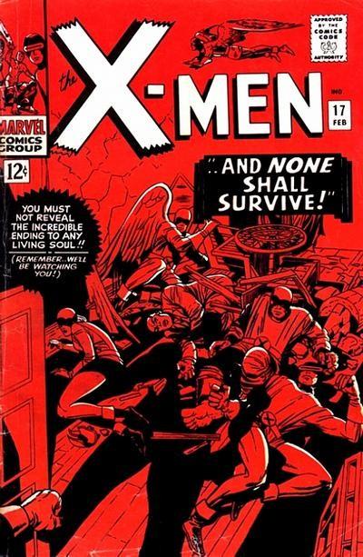 Couverture de Uncanny X-Men (The) (1963) -17- ...and none shall survive!