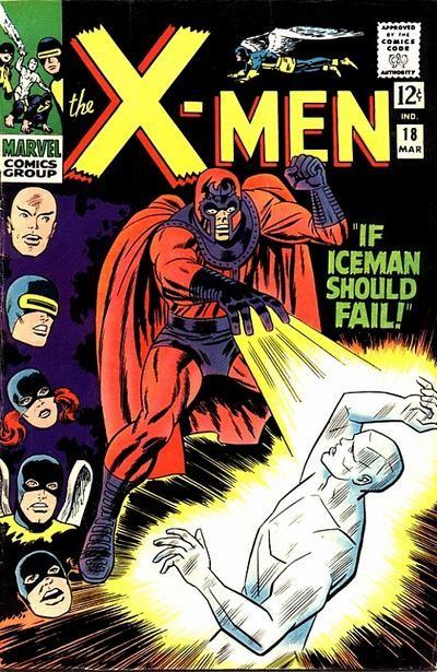 Couverture de Uncanny X-Men (The) (1963) -18- If iceman should fail..!