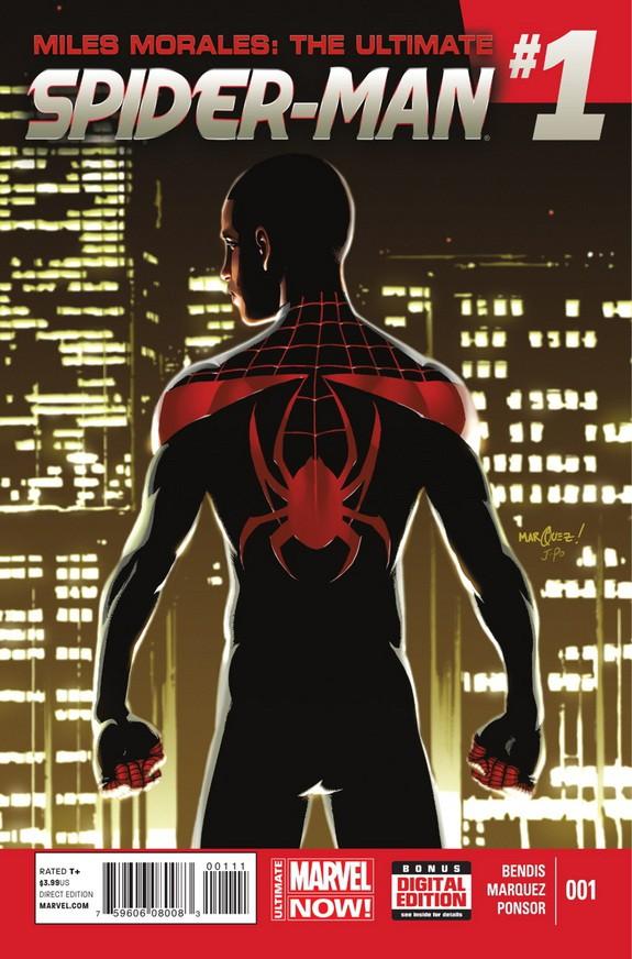 Couverture de Miles Morales: Ultimate Spider-Man (2014) -1- Issue 1