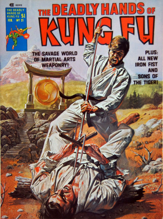 Couverture de Deadly Hands of Kung Fu (The) (1974) -21- And When I Died