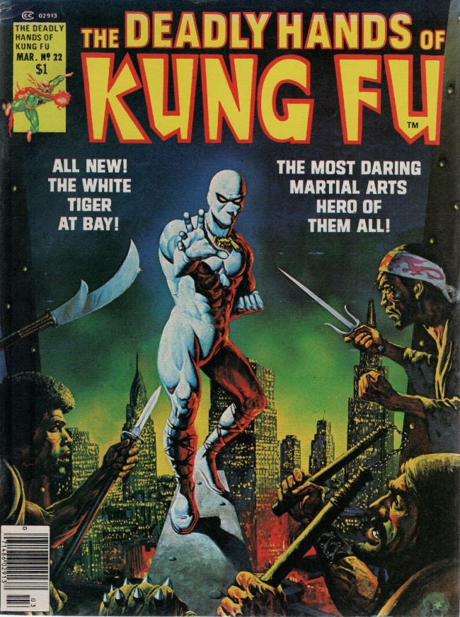 Couverture de Deadly Hands of Kung Fu (The) (1974) -22- Who is the white Tiger?