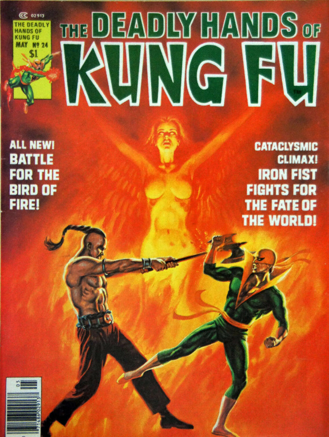 Couverture de Deadly Hands of Kung Fu (The) (1974) -24- Tiger, Tiger... Burning Bright