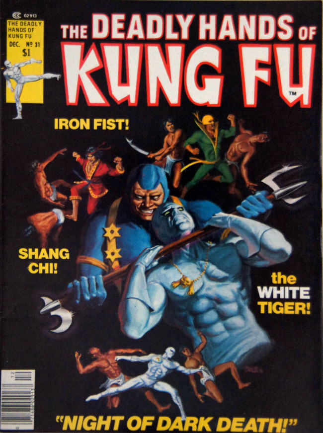 Couverture de Deadly Hands of Kung Fu (The) (1974) -31- Dark Waters of Death!