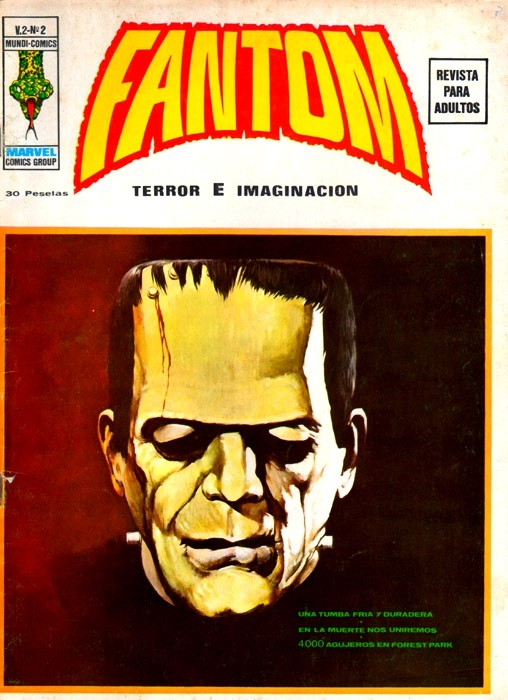 Couverture de Fantom (Vol.2) -2- Una tumba fría y duradera