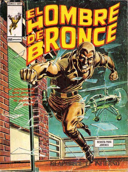 Couverture de Hombre de Bronze (El) -2- Reaparece el infierno