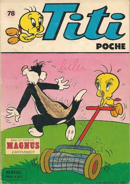 Couverture de Titi (Poche) -78- Matou martien
