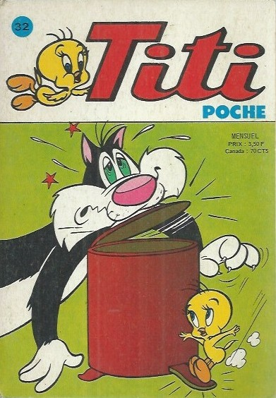 Couverture de Titi (Poche) -32- Mon ami le bouledogue