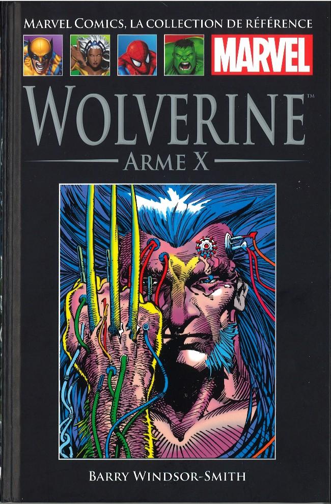 Couverture de Marvel Comics - La collection (Hachette) -3713- Wolverine - Arme X