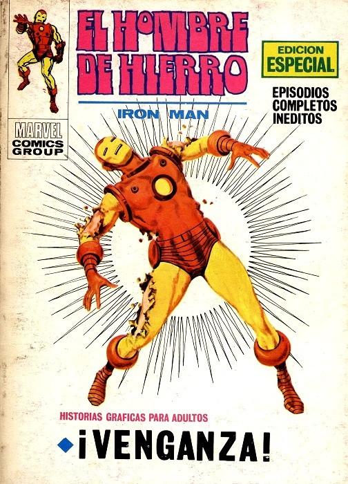 Couverture de Hombre de Hierro (El) (Iron Man) Vol. 1 -16- Venganza