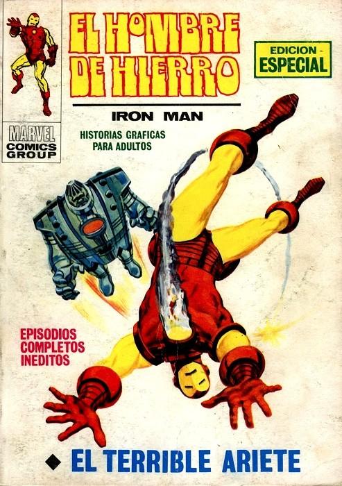 Couverture de Hombre de Hierro (El) (Iron Man) Vol. 1 -17- El terrible Ariete
