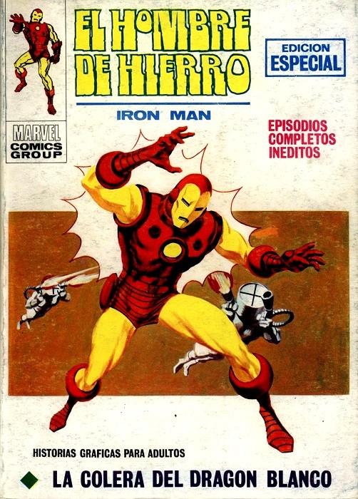Couverture de Hombre de Hierro (El) (Iron Man) Vol. 1 -18- La cólera del Dragón Blanco