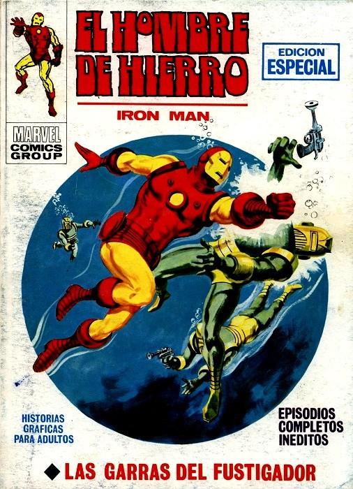 Couverture de Hombre de Hierro (El) (Iron Man) Vol. 1 -19- Las garras del Fustigador