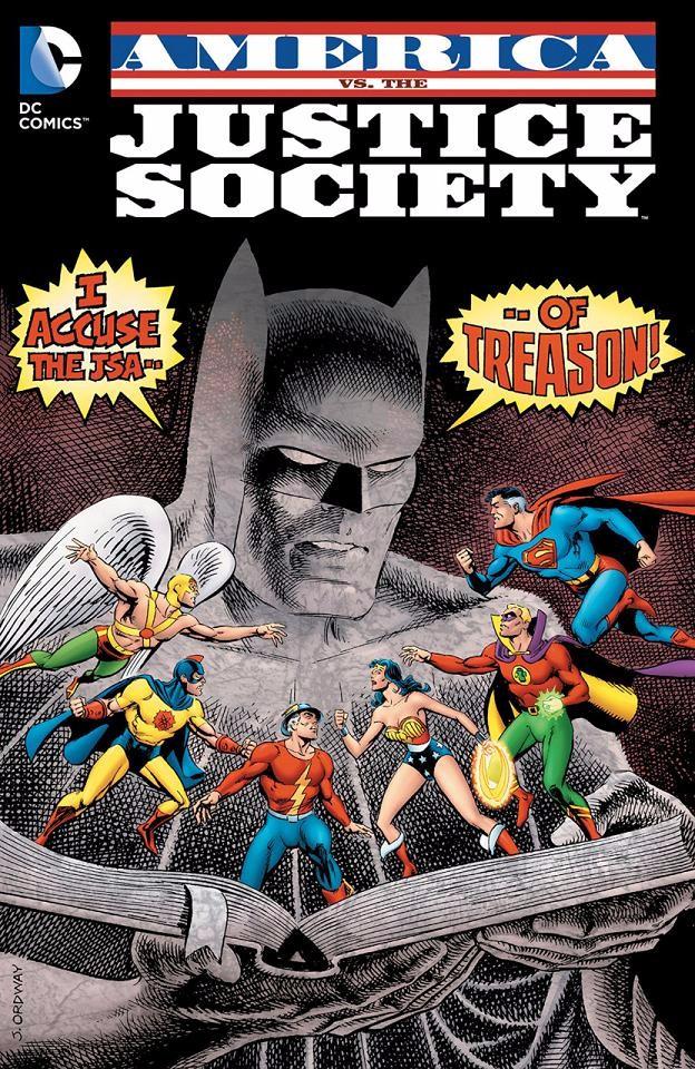 Couverture de America vs. the Justice Society (1985) -INT- America vs. the Justice Society