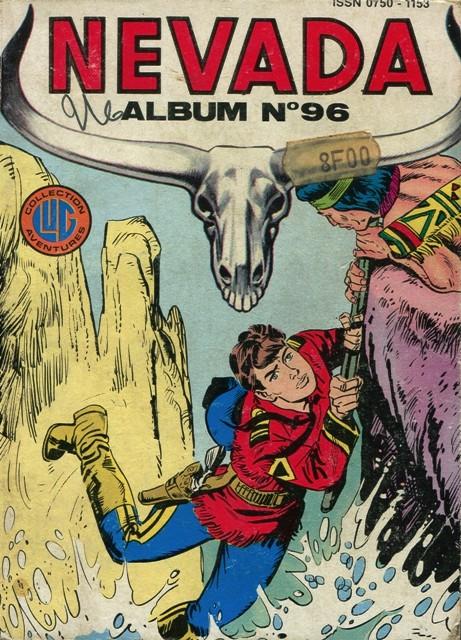 Couverture de Nevada (LUG) -Rec96- Album N°96 (du n°485 au n°487)