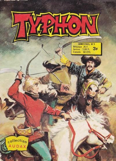 Couverture de Typhon -5- Prisonnier des mongols