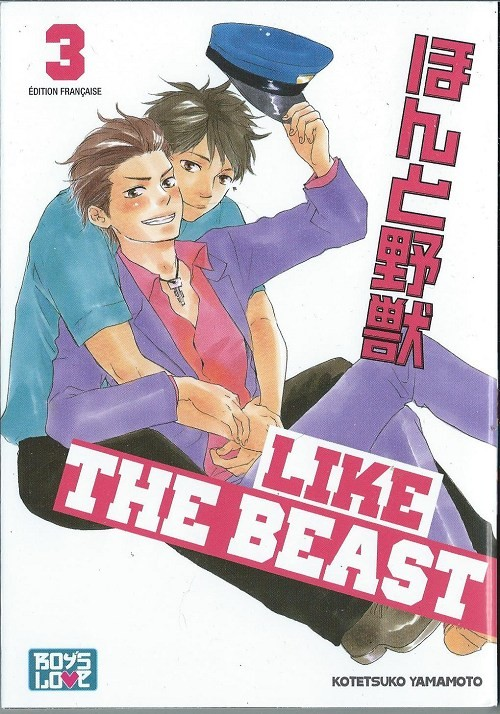 Couverture de Like the Beast -3- Tome 3