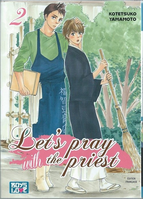 Couverture de Let's pray with the priest -2- Tome 2