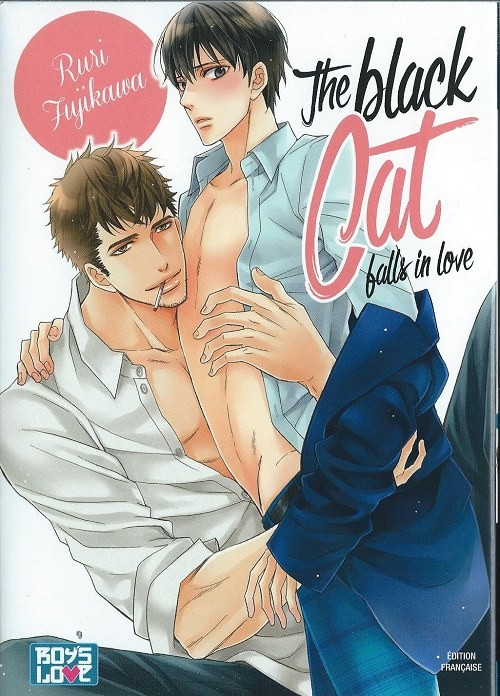Couverture de Black Cat falls in love (The) - The black Cat falls in love