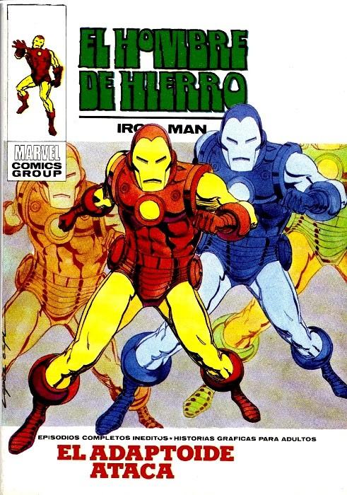 Couverture de Hombre de Hierro (El) (Iron Man) Vol. 1 -25- El Adaptoide ataca