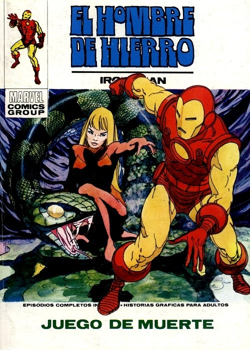 Couverture de Hombre de Hierro (El) (Iron Man) Vol. 1 -26- Juego de Muerte