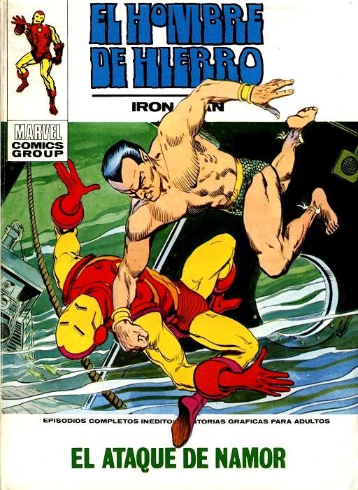 Couverture de Hombre de Hierro (El) (Iron Man) Vol. 1 -28- El ataque de Namor