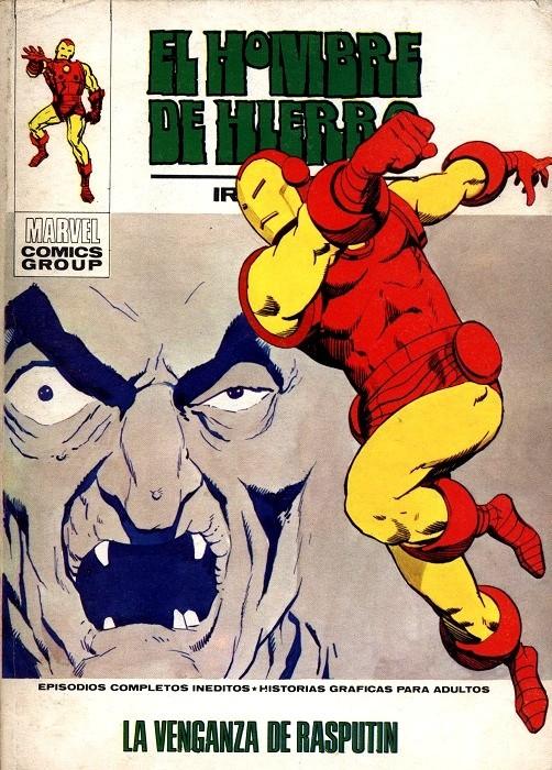 Couverture de Hombre de Hierro (El) (Iron Man) Vol. 1 -29- La venganza de Rasputín