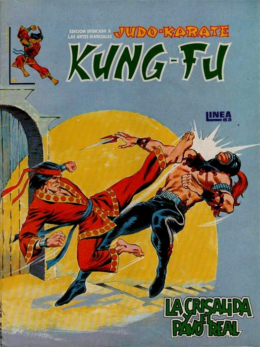 Couverture de Kung-Fu (Master of Kung Fu) -4- La crisálida y el pavo real
