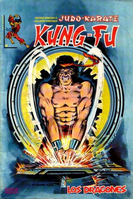 Couverture de Kung-Fu (Master of Kung Fu) -5- Los dragones