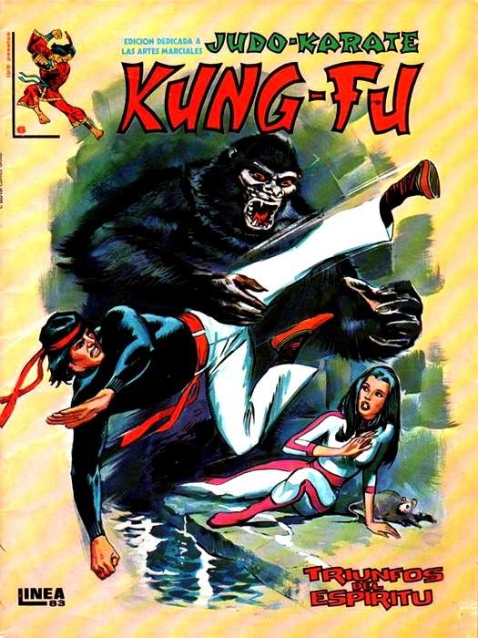 Couverture de Kung-Fu (Master of Kung Fu) -6- Triunfos del espíritu