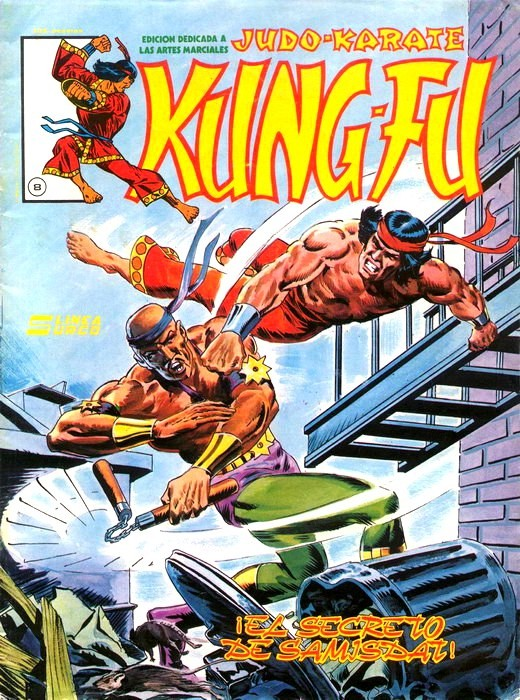 Couverture de Kung-Fu (Master of Kung Fu) -8- ¡El secreto de Samisdat!
