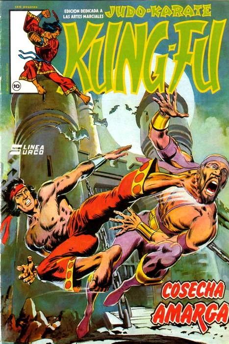 Couverture de Kung-Fu (Master of Kung Fu) -10- Cosecha amarga