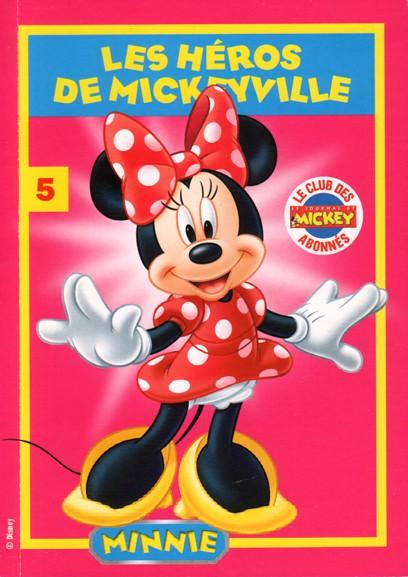 Couverture de Les héros de Mickeyville -5- Minnie