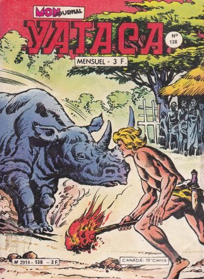 Couverture de Yataca (Fils-du-Soleil) -138- Le totem des pygmées