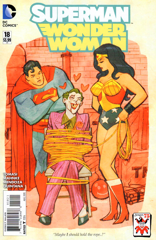Couverture de Superman/Wonder Woman (2013) -18- Issue 18