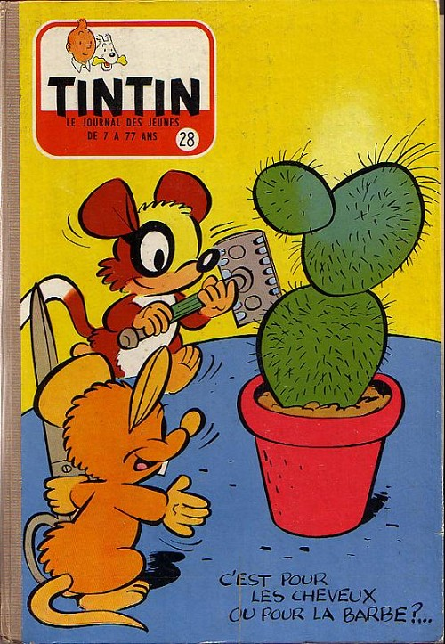 Couverture de (Recueil) Tintin (Album du journal - Édition française) -28- Tintin album du journal