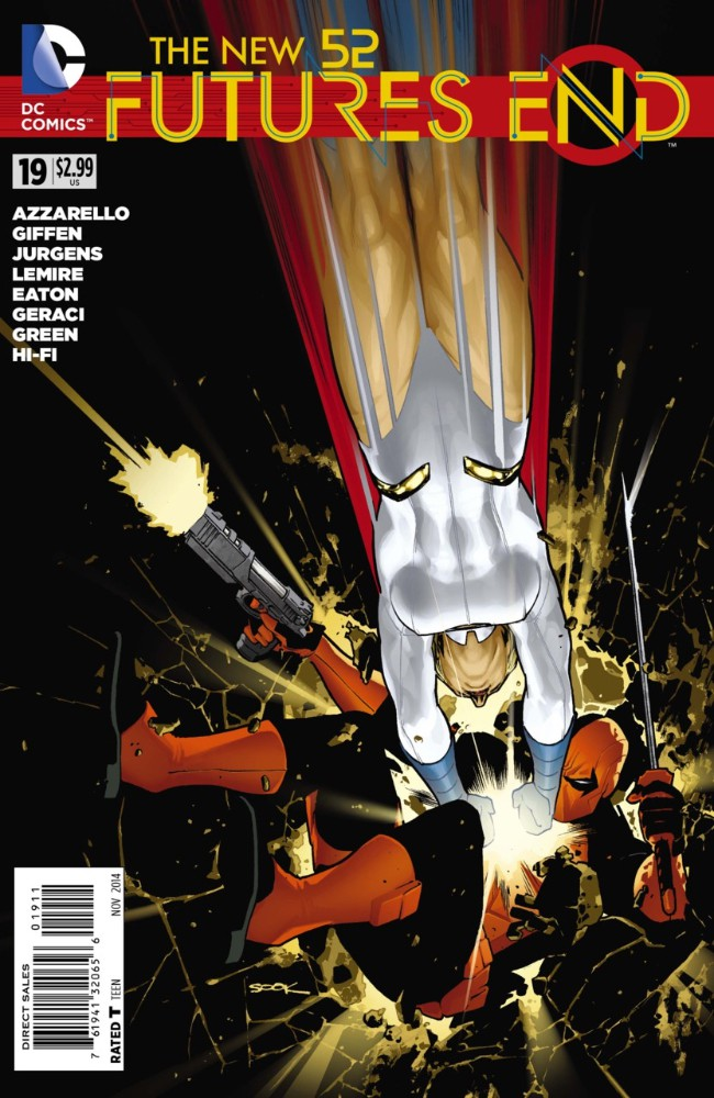Couverture de New 52 (The): Futures End (2014) -19- Issue 19