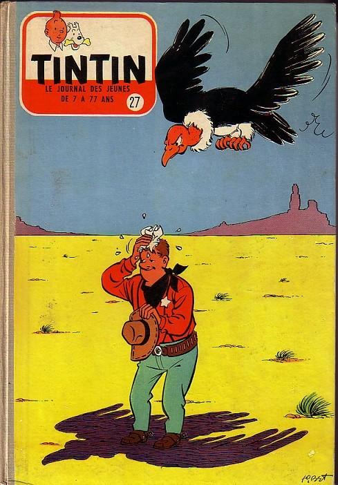 Couverture de (Recueil) Tintin (Album du journal - Édition française) -27- Tintin album du journal
