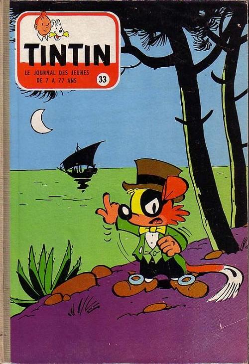 Couverture de (Recueil) Tintin (Album du journal - Édition française) -33- Tintin album du journal