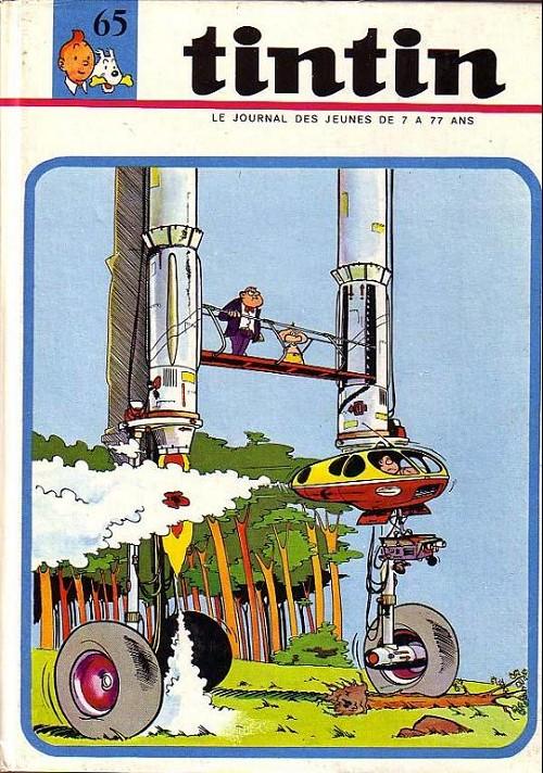 Couverture de (Recueil) Tintin (Album du journal - Édition française) -65- Tintin album du journal