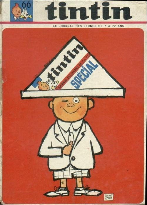 Couverture de (Recueil) Tintin (Album du journal - Édition française) -66- Tintin album du journal