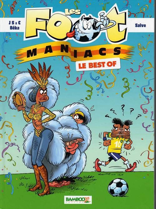 Couverture de Les foot-maniacs -Compil14- Le Best Of