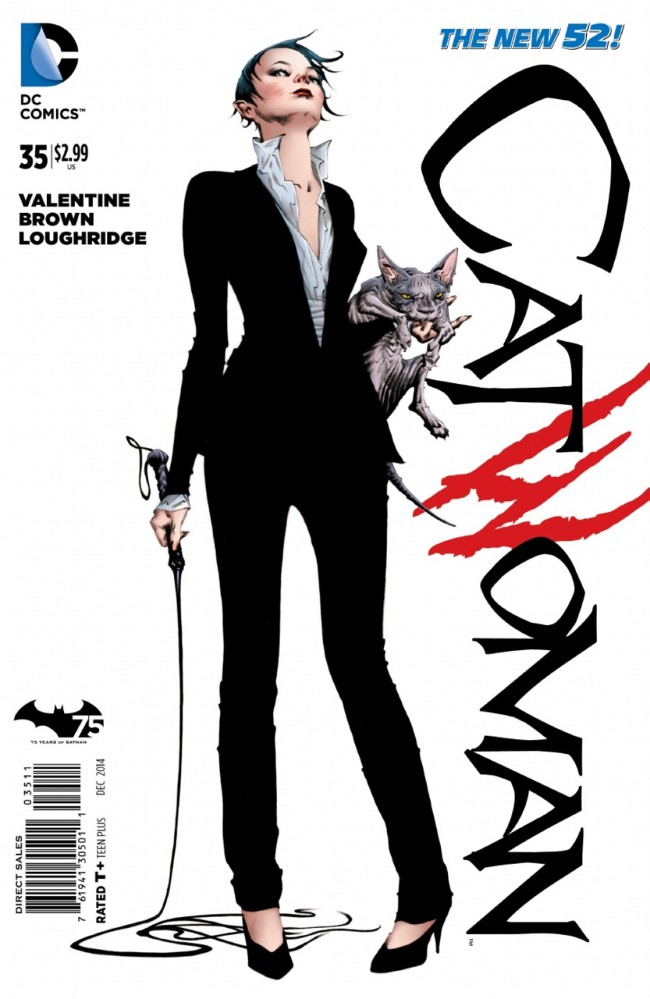 Couverture de Catwoman (2011) -35- Comfort to the Hurt of the King