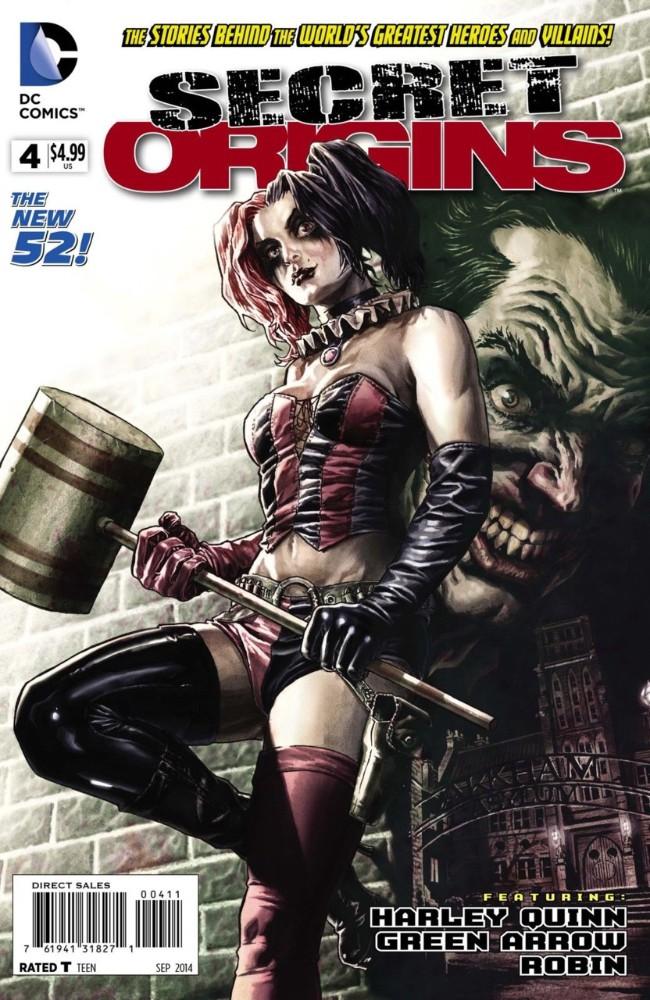 Couverture de Secret Origins (2014) -4- Harley Quinn
