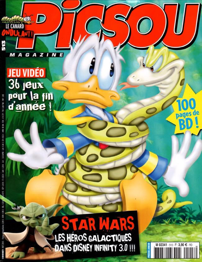 Couverture de Picsou Magazine -513- Picsou Magazine n° 513