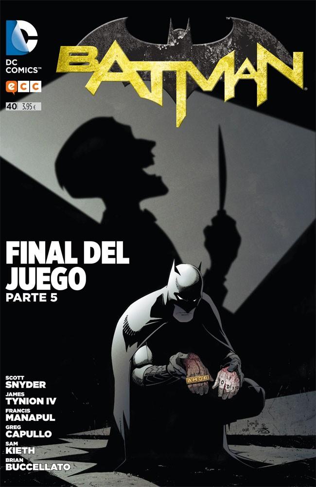 Couverture de Batman (en espagnol) -40- Final del Juego. Parte 5