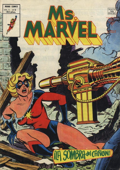 Couverture de Ms. Marvel (Vol. 1) -9- ¡La sombra del cañón!