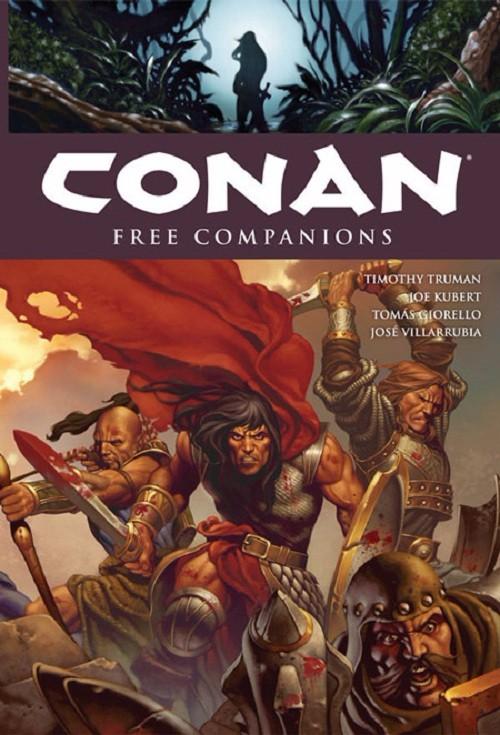 Couverture de Conan the Cimmerian (2008) -INT09- Free companions