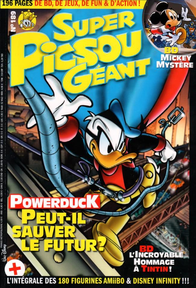 Couverture de Super Picsou Géant -189- Powerduck peut-il sauver le futur ?