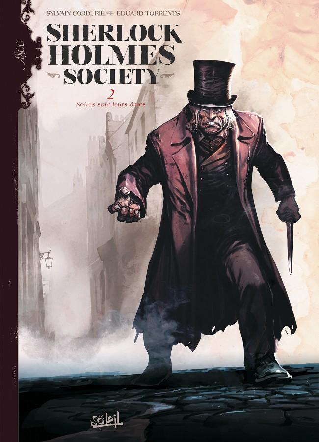 Couverture de Sherlock Holmes Society -2- Noires sont leurs âmes