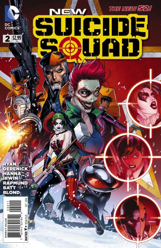 Couverture de New Suicide Squad (2014) -2- Pure Insanity, Part Two